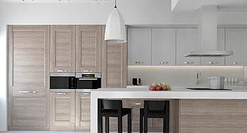 Built in Kitchen Cupboards, Cabinets, Storage units, counter top surfaces (Granite, Quartz, Solid wood, stainless steel) and kitchen appliances services in nelspruit, Mpumalanga (F-Interiors)