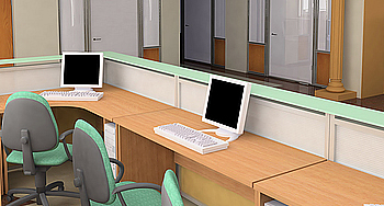 Specialty custom office furniture for schools, offices and commercial uses